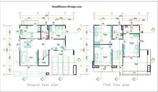 Small House Plan 12x11 m 40x36 Feet 4 Beds Pdf Full Plan layout plan