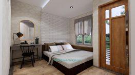 Small House Plan 4x7 M 13x23 Feet 2 Beds PDF Plan master bedroom