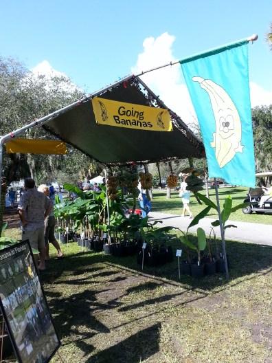Going Bananas Vendor Area, Gardenfest 2014