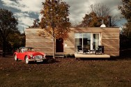 The Freedomky 2 PLUS Classic, a small prefab house with 1 bedroom in 465 sq ft. | www.facebook.com/SmallHouseBliss