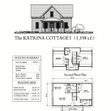 this traditional katrina cottage design has 3 bedrooms in 1198 sq ft original floor plan - Katrina Cottage Plans