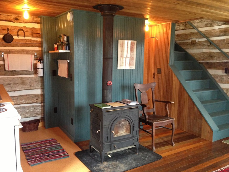 Trout River Log Cabin Small House Bliss