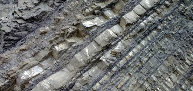 Layered Rock Devil's Slide, Montara CA
