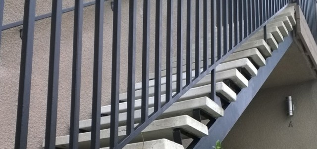 Stairway La Jolla CA