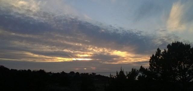 Sunset, Montara CA, January 2, 2016