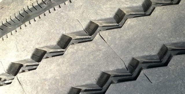 Tire Tread Closeup