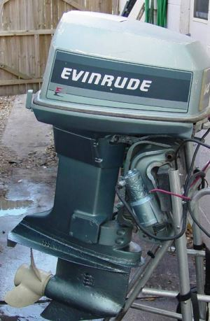 Evinrude 85 hp Outboard Boat Motor For Sale