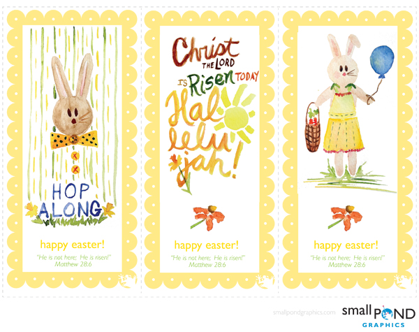 make . Easter Cards & Bookmarks [printable]