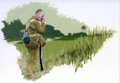 Millitary illustration by Rob Chapman