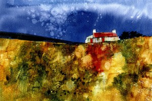 Moorland Cottage Revisited by Paul Steven Bailey