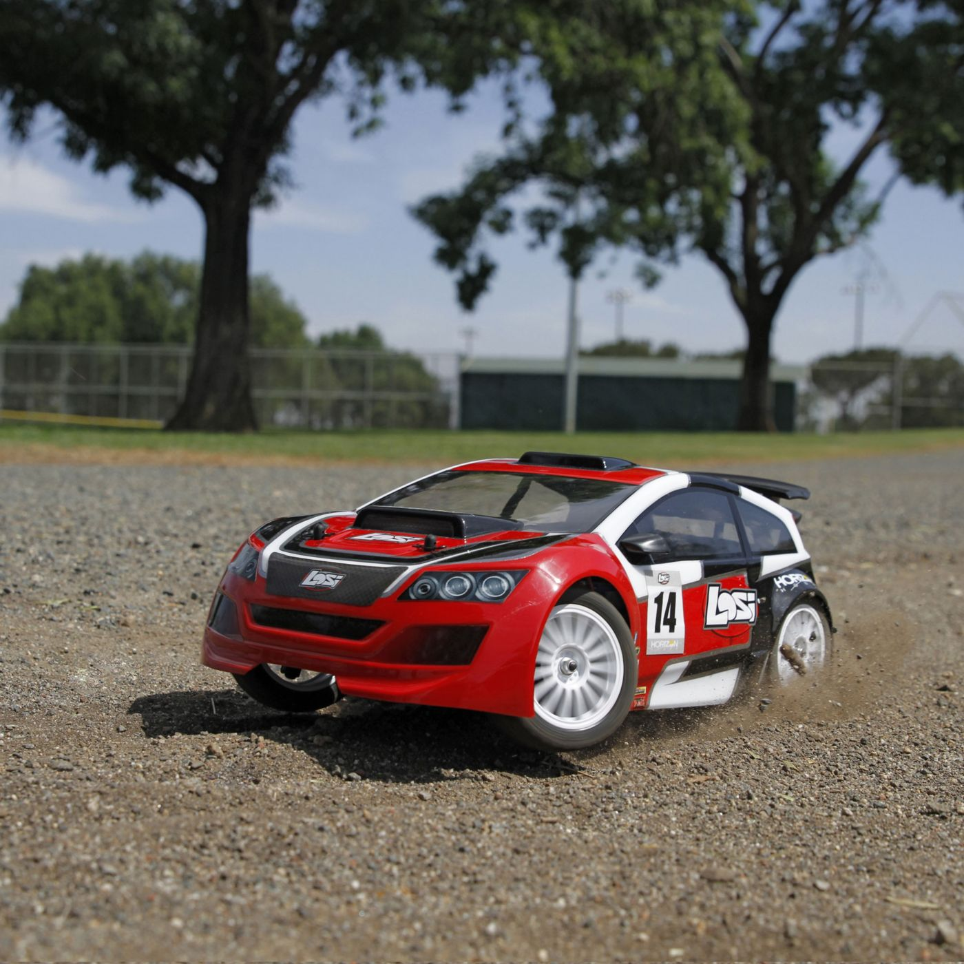 Losi Let\'s Loose with Their 1/14 Mini Rally 4WD