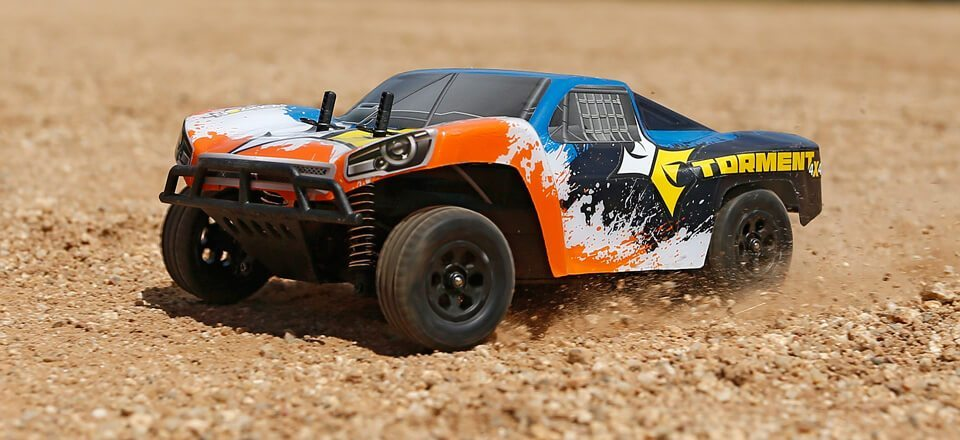 Tear up the Track with the Tough ECX Torment 1/24 Short Course Truck