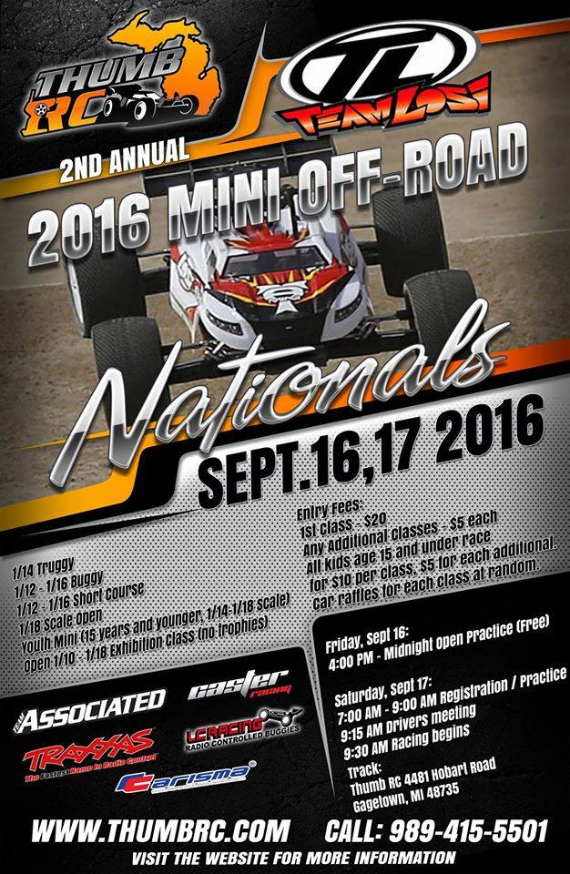 Mini Off-road RC Nationals - 2016