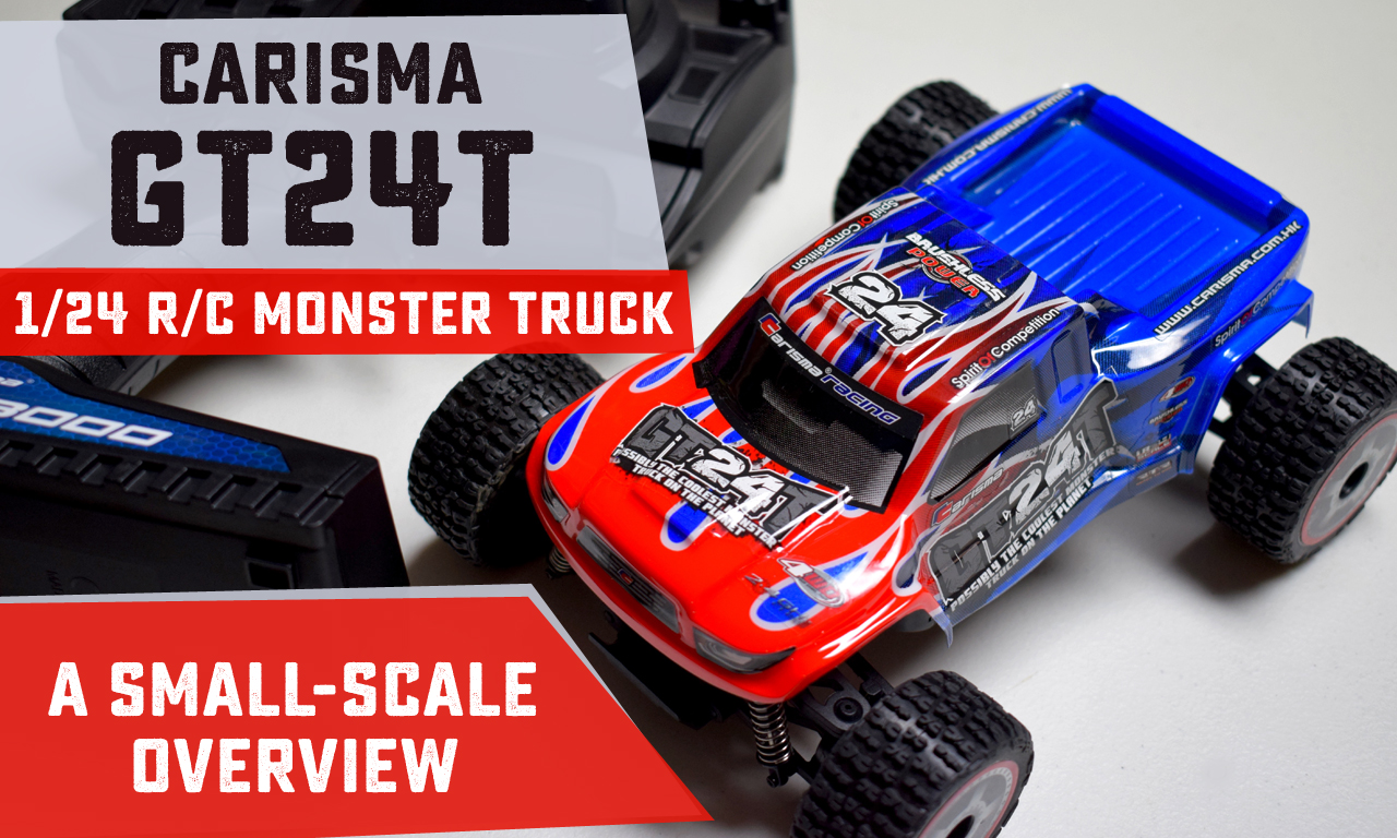 First Impressions: Carisma GT24T Radio-Controlled Monster Truck