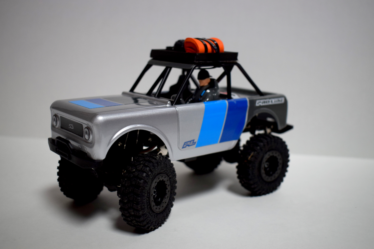 3D Printed Scale Accessories for the Pro-Line Ambush 4×4
