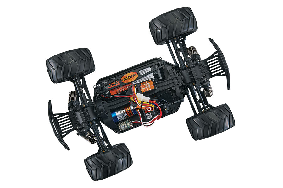 Dromida Brushless Monster Truck - Chassis