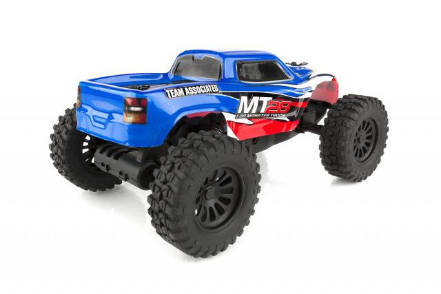 Team Associated MT28 Monster Truck - Rear