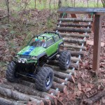 Built To Rock A Custom Small Scale R C Crawler Course Pics Small Scale Rc