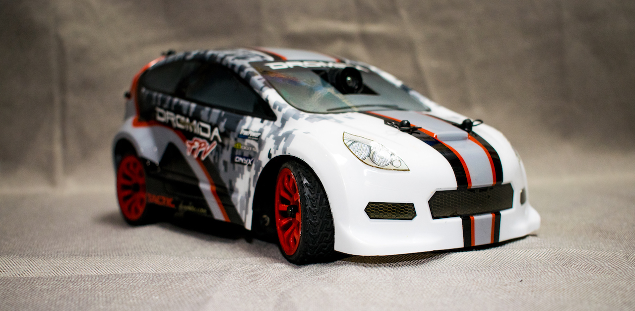Dromida FPV Rally Car - Front Side