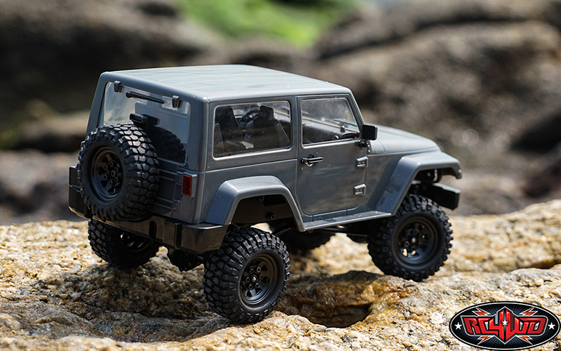 RC4WD Gelande II Black Rock - Rear