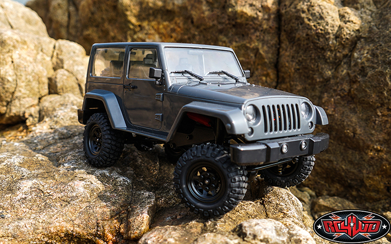 "RC4WD Gelande II ""Black Rock"" 1/18 Scale Trail Rig"