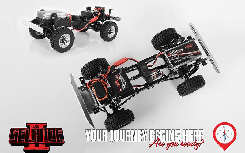 RC4WD Gelande II BlackJack - Chassis