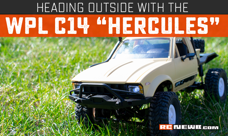 "An Outdoor Adventure with the WPL C14 ""Hercules"""