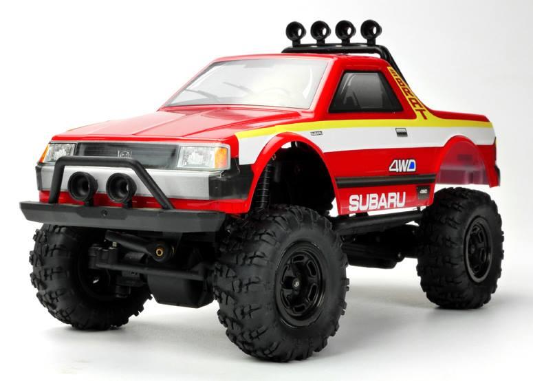 Carisma Scale Adventure MSA-1E Subaru Brat