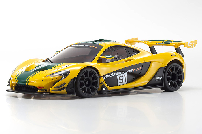 Kyosho Mini-Z McLaren P1 GTR - Yellow