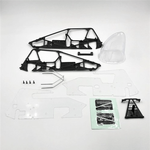 1RC Racing Silver Crown Conversion Kit - Parts
