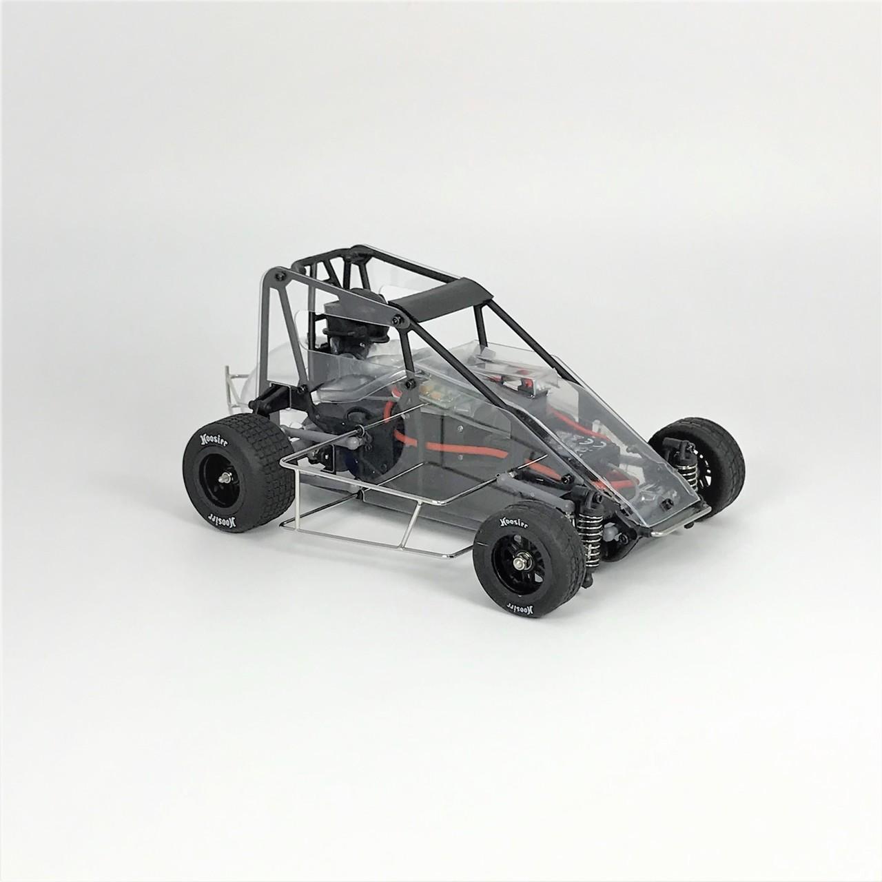 1RC Racing Midget 2 - Clear