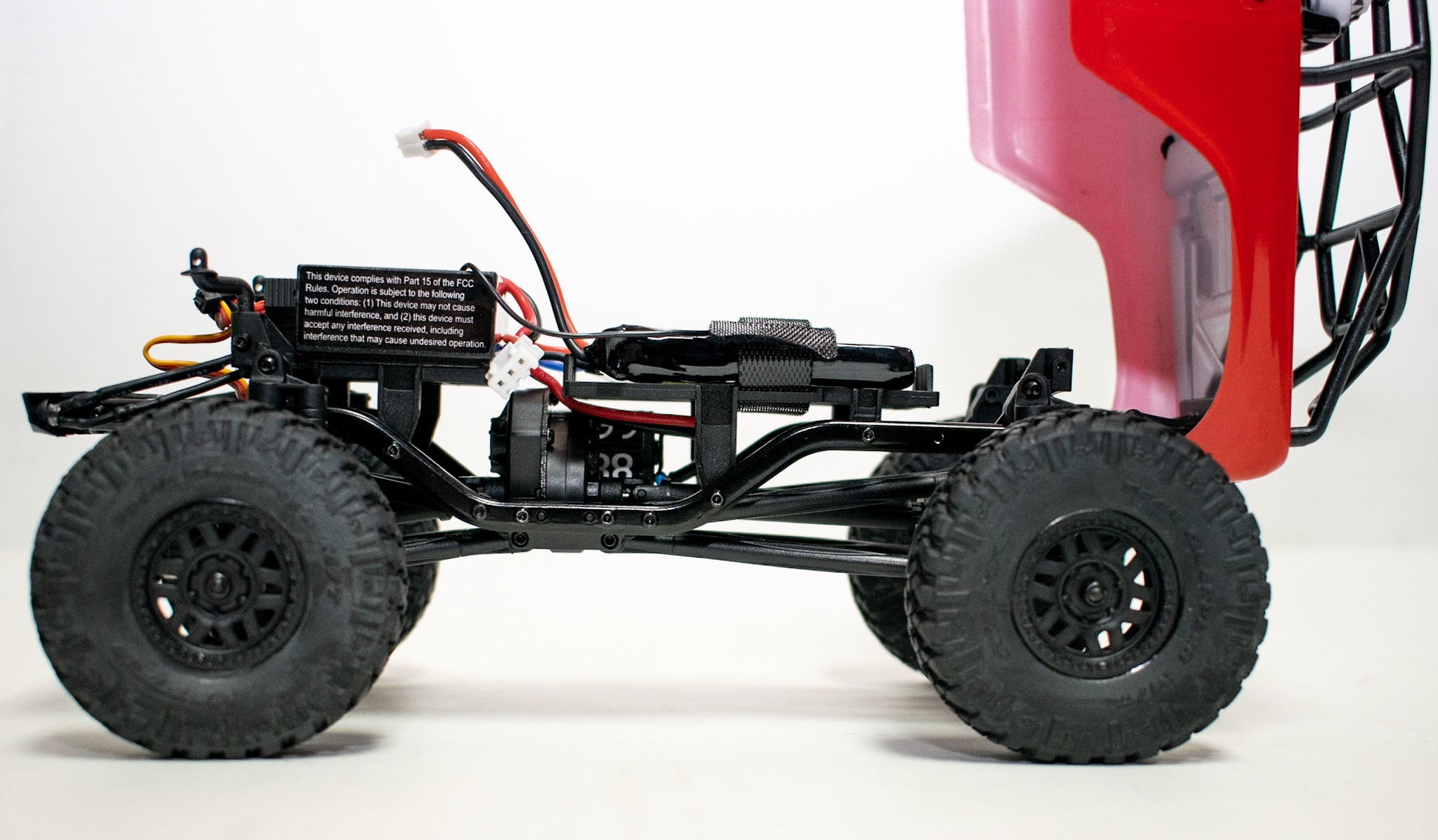Axial SCX24 Deadbolt - Chassis Side