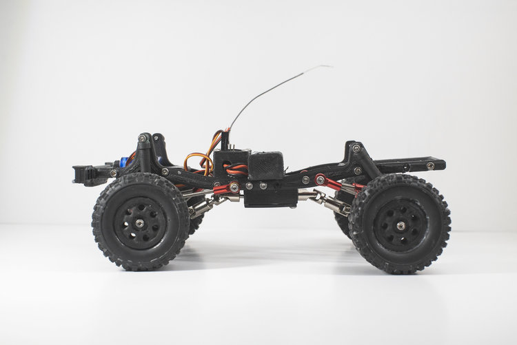 Ripper RC UGR Platform - Chassis Side