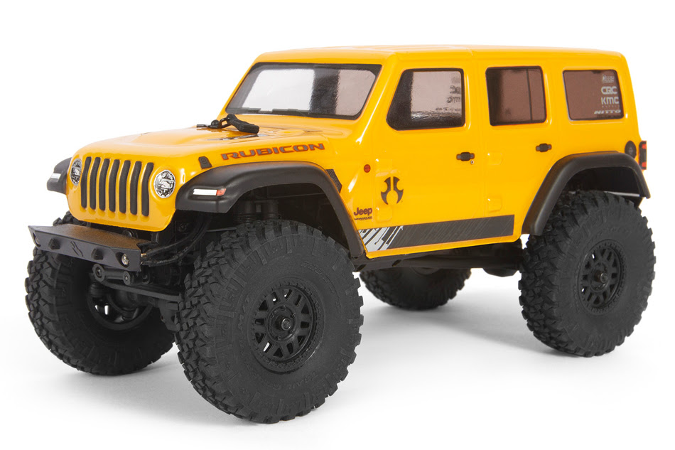 It's a Jeep Thing: Axial's SCX24 2019 Jeep Wrangler JLU