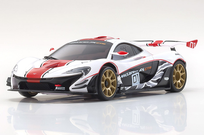Red, White & Blazing Fast: Kyosho's Mini-Z McLaren P1 GTR