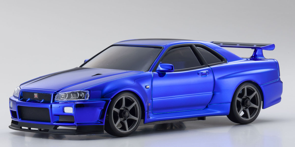 "Kyosho 20th Anniversary Mini-Z Nissan Skyline GT-R ""Auto Scale"" Collector's Model"