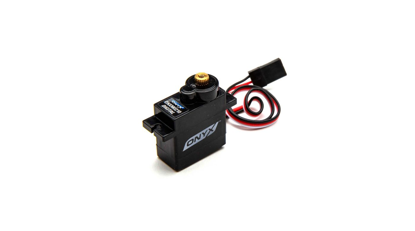 Two New Micro & Mini Servos from Horizon Hobby's Onyx Brand