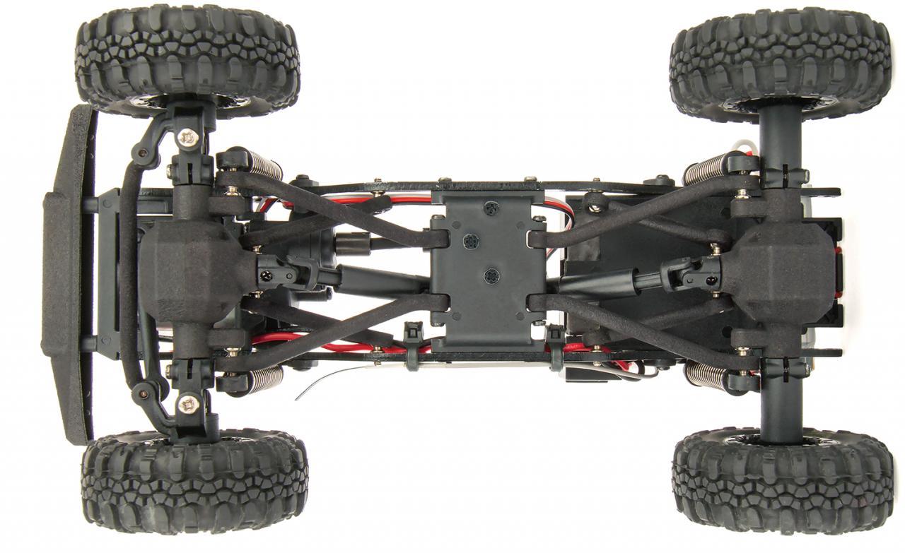 Element RC Enduro24 Crawler - Chassis Bottom