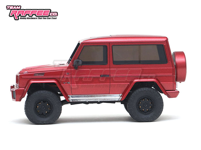 Team Raffee Co Benz G-Class Kyosho Mini-Z 4x4 Body - Side