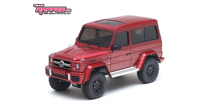Team Rafee Co. Releases a New Benz G-Class Body for the Kyosho Mini-Z 4×4