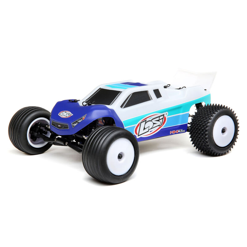 Tear up Turf or Track with Losi's Mini-T 2.0 Brushless Stadium Truck