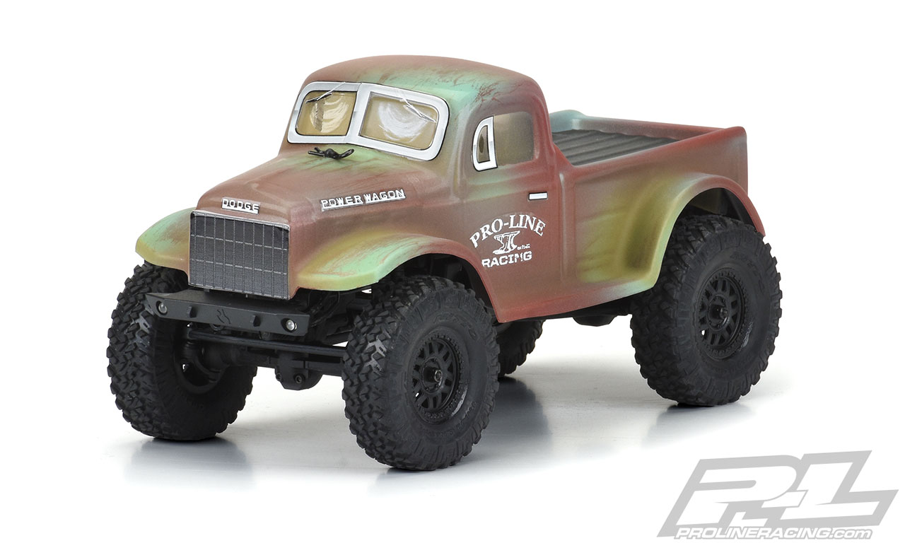 Pro-Line 1946 Dodge Power Wagon Body for the Axial SCX24 JLU