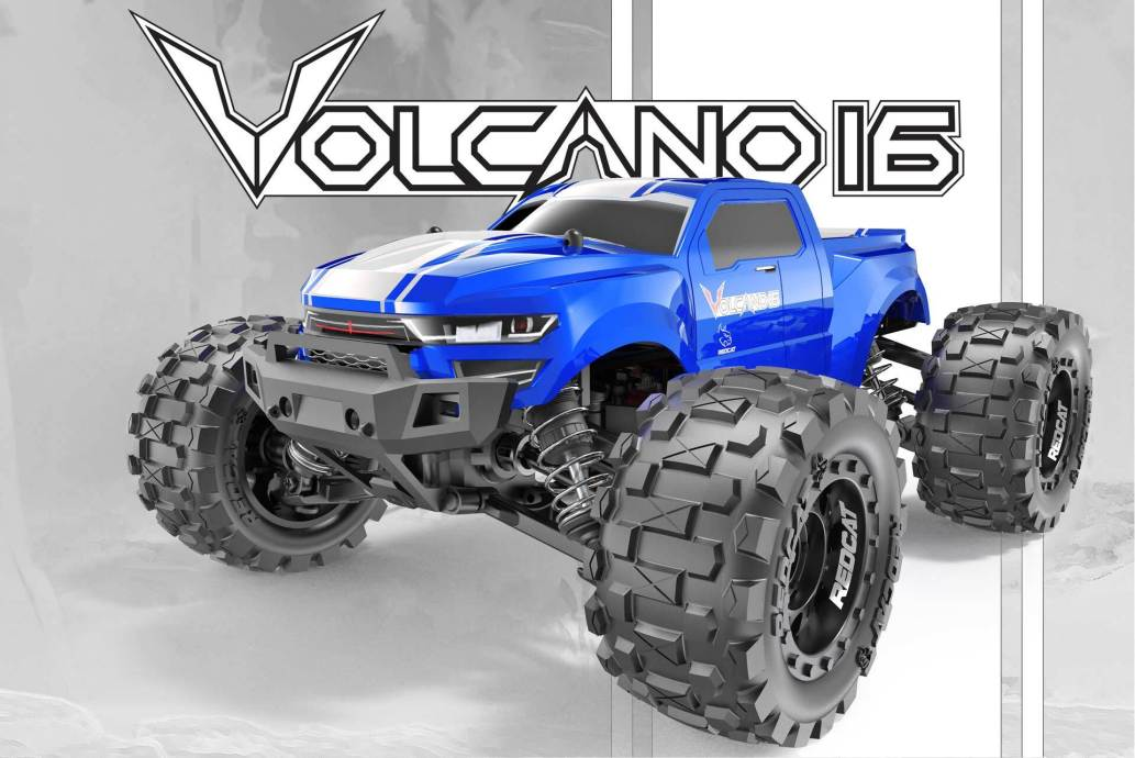 Redcat Volcano-16 Small-scale R/C Monster Truck