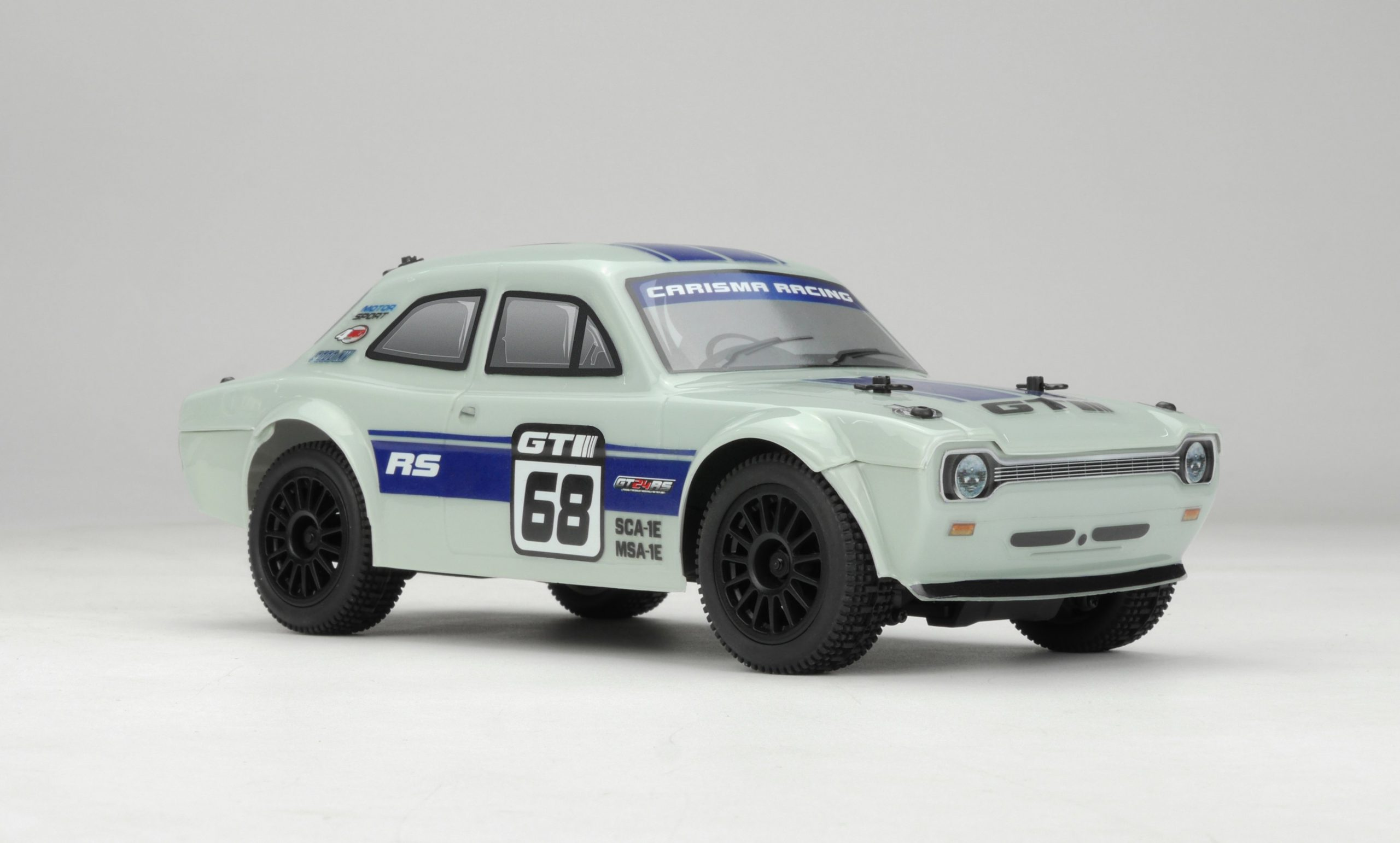 Carisma GT24RS Brushless Retro Rally Car