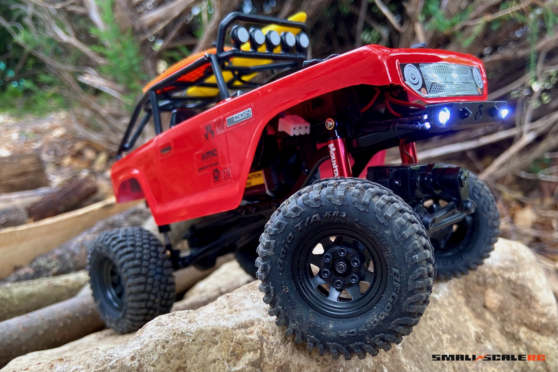 Review: Injora 40mm Internal-Spring Shocks for the Axial SCX24