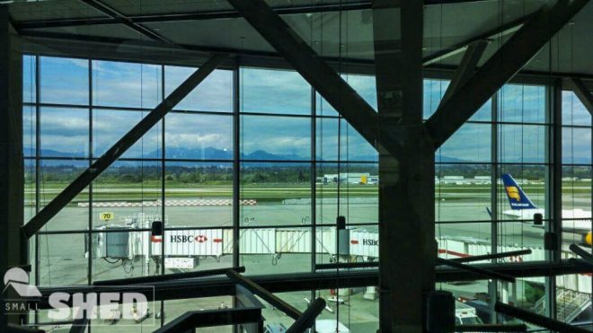 vancouver - airport - mountain - canada