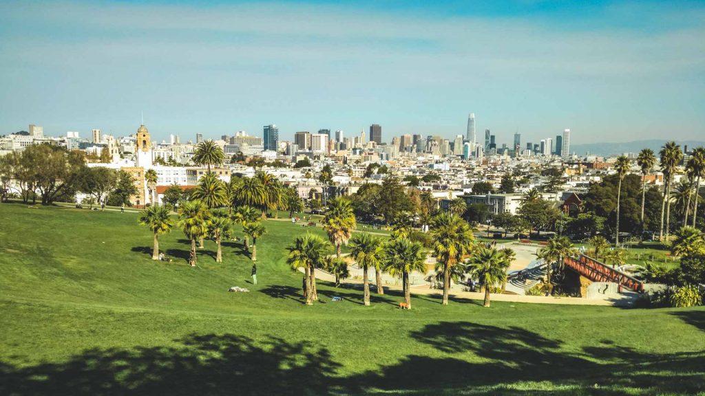 Veduta del Dolores mission Park