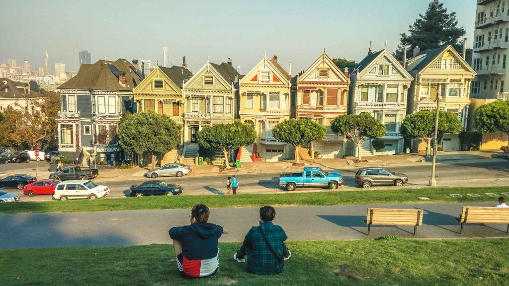 Le painted Ladies a San Francisco