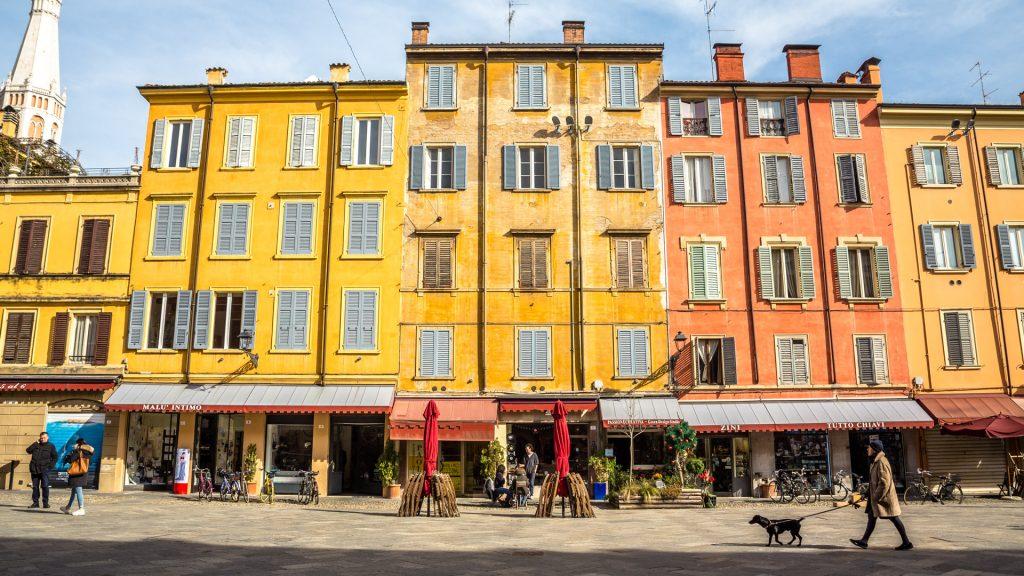 Modena piazza XX settembre