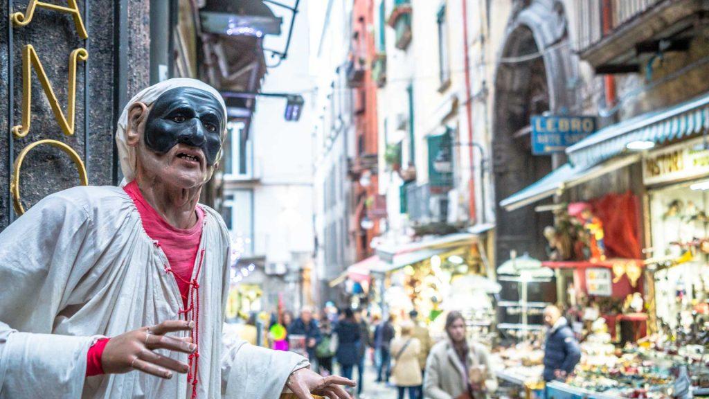 strade di Napoli centro